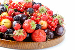 Berry assortment Royalty Free Stock Image