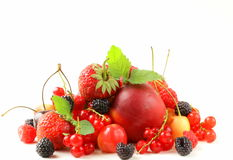 Berry assortment Royalty Free Stock Photography