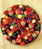 Berry assortment Stock Photos