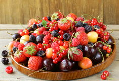 Berry assortment Stock Images