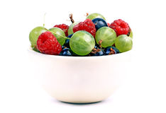 Berry in basin Stock Photo