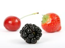 Berry, Black, Blackberry, Blueberry Stock Images