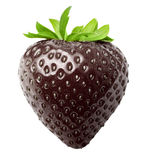 Berry black strawberry isolated Royalty Free Stock Photography