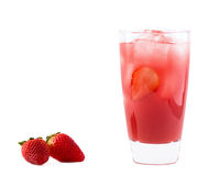 Berry Blush Cocktail Royalty Free Stock Photos