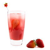 Berry Blush Cocktail Royalty Free Stock Images