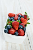 Berry Bowl Vertical Royalty Free Stock Image