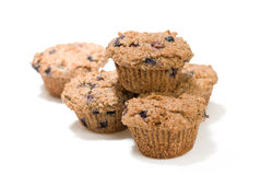 Berry bran muffins royalty free stock image
