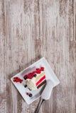 Berry Cake Stock Afbeeldingen