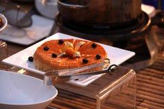 Berry cake. Beautiful shot of delecious berry cake stock photos