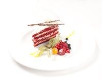 Berry cake dessert Stock Photos