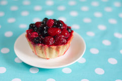 Berry cake Stock Photos