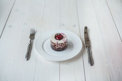 Berry cake Royalty Free Stock Images