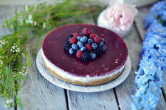 Berry cake Royalty Free Stock Photos