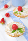 Berry cakes Stock Photo