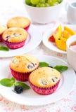 Berry cakes Stock Photo