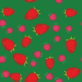 Berry cartoon seamless texture 641 Stock Photography