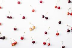 Berry Cherry Pattern foto de stock royalty free