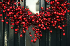 Berry christmas wreath Stock Photography