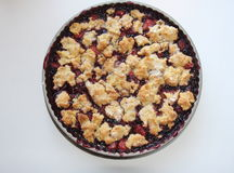 Berry cobbler Royalty Free Stock Photo