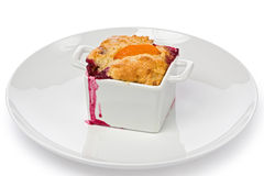 Berry Cobbler Royalty Free Stock Photos