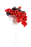 Berry cocktail Royalty Free Stock Photography