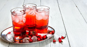 Berry cocktails Stock Photography
