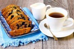 Berry coffee cake Royalty Free Stock Photos