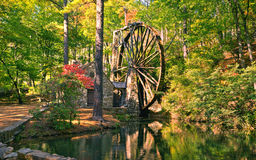 Berry College Old Mill Royalty Free Stock Photos