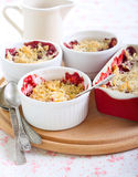 Berry crumble Royalty Free Stock Photos