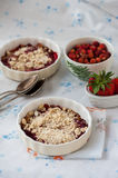Berry crumble Stock Photo