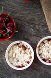 Berry crumble Royalty Free Stock Image
