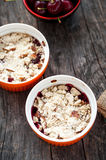 Berry crumble Royalty Free Stock Images