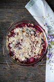 Berry crumble Stock Image