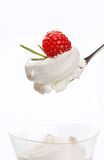 Berry dessert Stock Photography