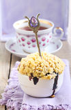 Berry dessert Stock Images