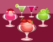 Free Berry Desserts Royalty Free Stock Image - 18676296