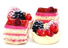 Berry desserts Stock Photo