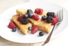 Berry egg bread Stock Photos