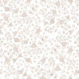 Berry floral pattern Stock Photo