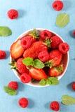 Berry Fruit Bowl fotografía de archivo