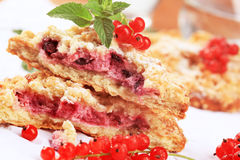 Berry fruit cake Royalty Free Stock Photography