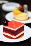 Berry fruit cake Stock Photos