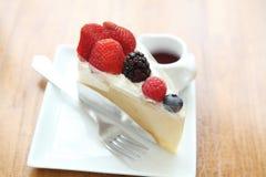 Berry fruit cake Stock Photography