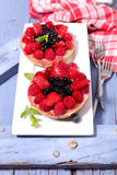 Berry fruit cake Royalty Free Stock Photos