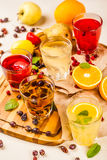 Berry fruit drinks Royalty Free Stock Image