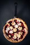 Berry fruit pie Royalty Free Stock Images