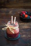 Berry Fruit Smoothie frais Photos stock