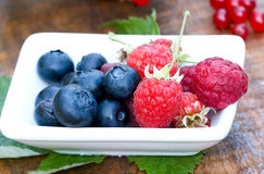 Berry fruits closeup Royalty Free Stock Images