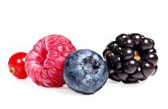 Berry fruits Stock Photo