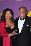 Berry Gordy, Debbie Allen, Alfred Mann Royalty Free Stock Photo